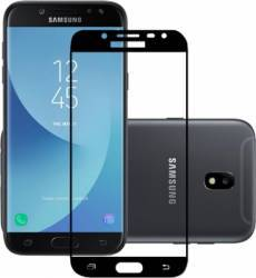 Folie Protectie Sticla Securizata Samsung Galaxy J5 2017 SM-J530F Negru Folii Protectie