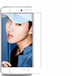 Folie sticla full size pentru Huawei P8 LITE 2017 Honor 8 Lite Nova Lite P9 Lite 2017 alb Folii Protectie