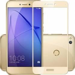 Folie sticla full size pentru Huawei P8 LITE 2017 Honor 8 Lite Nova Lite P9 Lite 2017 auriu Folii Protectie