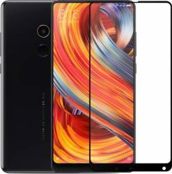 Folie sticla securizata Himo full size pentru Xiaomi Mi Mix 2 Negru Folii Protectie