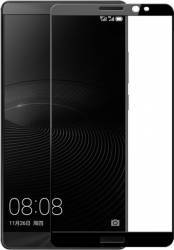 Folie sticla securizata Himo Huawei Mate 8 Negru folii protectie