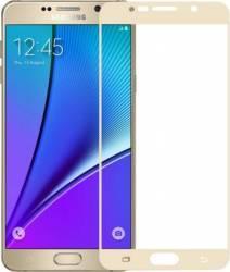 Folie sticla securizata Himo Samsung Galaxy Note 5 N920I Auriu Folii Protectie