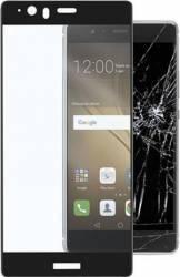 pret preturi Folie Protectie Sticla Securizata Huawei P8 Lite Negru