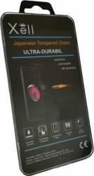 Folie Sticla Xell 2.5D Silk Print Full Cover Huawei P10 Lite Negru Folii Protectie