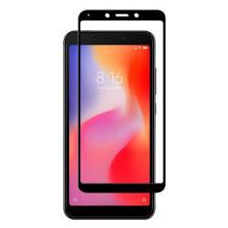 pret preturi Folie protectie pentru Xiaomi Redmi 6 6A din sticla securizata full size negru