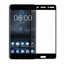 pret preturi Folie protectie Profesionala ecran sticla pentru Nokia 6 Negru