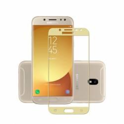 pret preturi Folie sticla 3D Full Samsung Galaxy J7 2017 marigine aurie