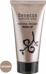 Fond de ten Benecos bio Caramel (ten inchis), 30 ml Make-up ten