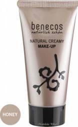 Fond de ten Benecos bio Honey (ten mediu), 30 ml Make-up ten