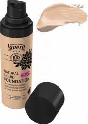 Fond de ten Lavera Bio lichid Ivory Light 01 30 ml Make-up ten