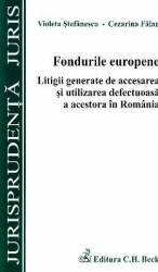 Fondurile europene - Violeta Stefanescu Cezarina Falan Carti