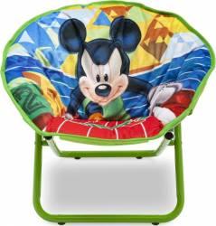 Fotoliu pliabil pentru copii Mickey Mouse Mobila si Depozitare jucarii