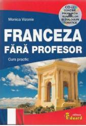 Franceza fara profesor + CD - Monica Vizonie