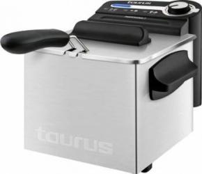 Friteuza Taurus Professional 2 Plus 1700W 2L Termostat reglabil Rezistenta inox Integral demontabila Inox Friteuze