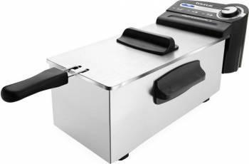 Friteuza Taurus Professional 3 2100 W 3L Termostat reglabil Rezistenta inox Integral demontabila Inox Friteuze