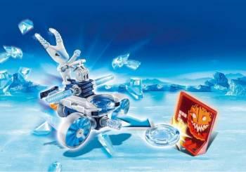 Frosty si Lansator de Discuri PlayMobil Seturi de constructie