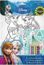 Frozen Fever Set de colorat