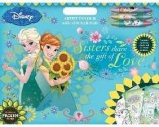 Frozen Fever Trusa de arstist si stickere Carti