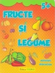Fructe si legume 5+ - Activitati distractive