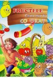 Fructele - Cartea mea de colorat