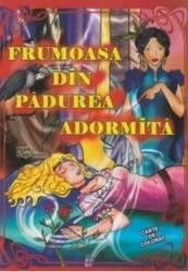 Frumoasa din padurea adormita dupa fratii Grimm - Carte de colorat A4