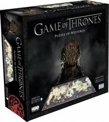 GAME OF THRONES WESTEROS Puzzle 4D Cityscape Jucarii Interactive