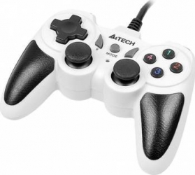 Gamepad A4Tech X7-T4 Snow USB PS2 PS3 Gamepad & Joystick