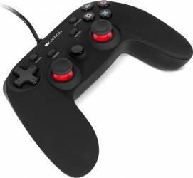 Gamepad Canyon CND-GP5 PS4 Negru Gamepad & Joystick
