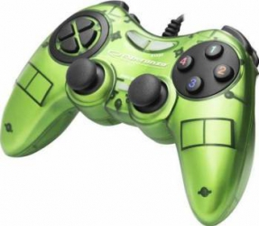 Gamepad Esperanza EGG105G Fighter PC verde Gamepad & Joystick