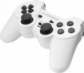 Gamepad Esperanza EGG106W Corsair PC/PS2/PS3 Alb Gamepad & Joystick