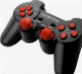 Gamepad Esperanza EGG107R Trooper PC PS3 Negru-Rosu Gamepad & Joystick