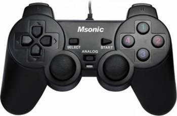 Gamepad Msonic MN3329BK USB PC Gamepad & Joystick