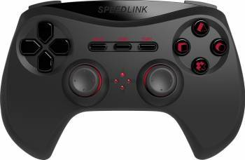 Gamepad Wireless SpeedLink STRIKE NX PS3 Negru Gamepad & Joystick