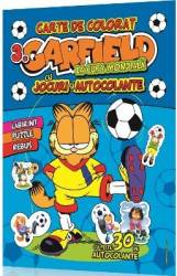 Garfield vol.3 Carte de colorat cu jocuri distractive