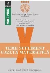Gazeta Matematica Clasa a 10-a Teme supliment - Radu Gologan Ion Cicu Alexandru Negrescu