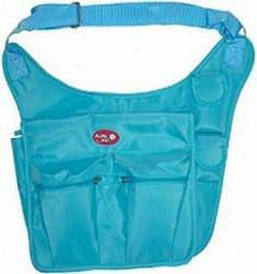 Geanta de voiaj cu saltea infasat Primii Pasi GV-8355X, Albastru Genti pentru mamici