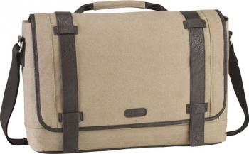 Geanta Laptop Targus Canvas Messenger 15.6 Bej TBM06401 Genti Laptop