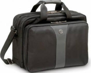 Geanta Laptop Wenger Legacy 16 inch Negru-Gri Genti Laptop