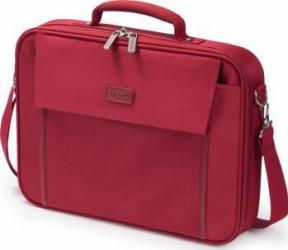 Geanta Laptop Dicota Multi Base 15 - 17.3 inch Red Genti Laptop