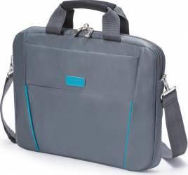 Geanta Laptop Dicota Slim 12 - 13.3 Grey - Blue Genti Laptop