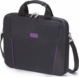 Geanta Laptop Dicota Slim 14 - 15.6 Black - Purple Genti Laptop