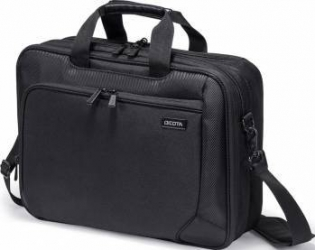 Geanta Laptop Dicota Top Traveller Dual ECO 14 - 15.6 Black Genti Laptop