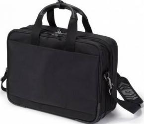 Geanta Laptop Dicota Top Traveller Twin 14 - 15.6 Black Genti Laptop