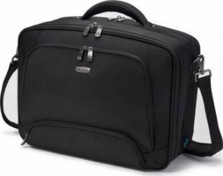 Geanta Laptop Dicota Twin PRO 13 - 15.6 inch Black Genti Laptop