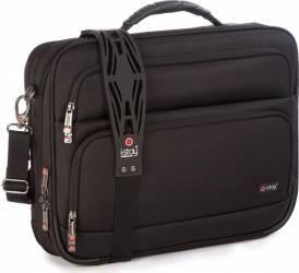 Geanta Laptop i-Stay Fortis Clamshell 15.6inch Negru Genti Laptop