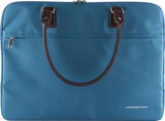 Geanta Laptop Modecom Charlton Blue 15.6 Genti Laptop
