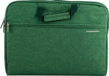 Geanta Laptop Modecom Highfill 13.3 Verde Genti Laptop