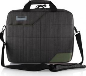 Geanta laptop Modecom Montana 15.6 Gri cu Verde Genti Laptop