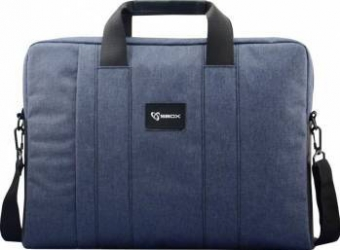 Geanta Laptop SBOX Budapest NSS-35032N 15.6 Navy Blue Genti Laptop