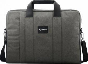 Geanta Laptop SBOX Budapest NSS-35032S 15.6 Grey Genti Laptop